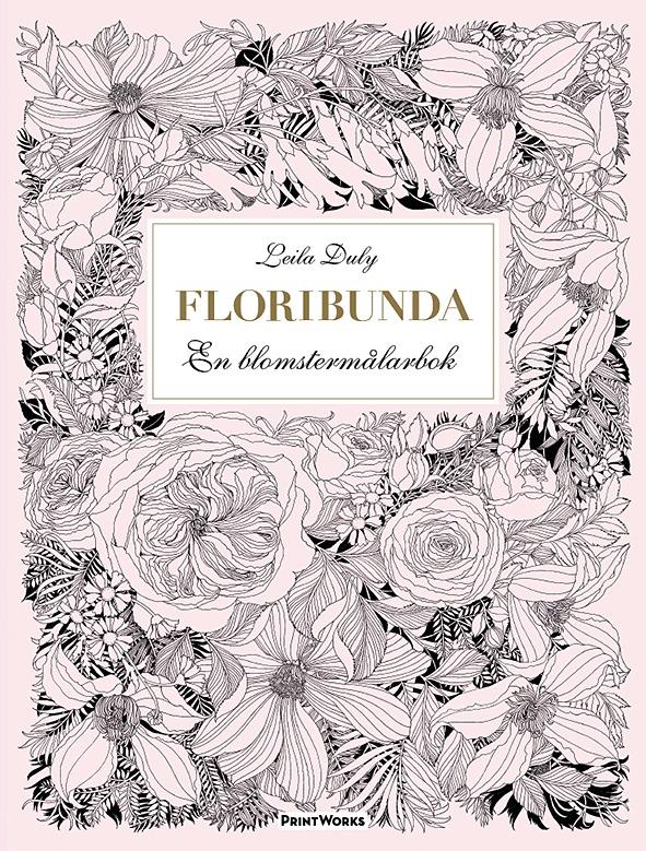 Floribunda En blomstermålarbok