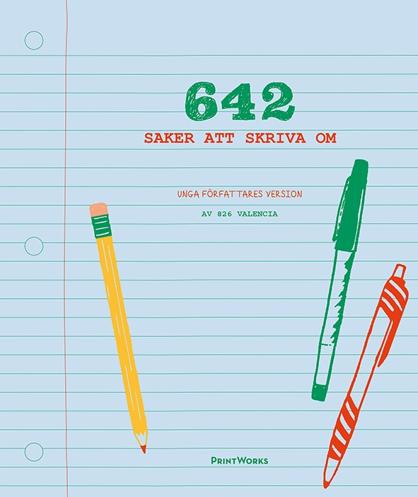 642 saker att skriva om