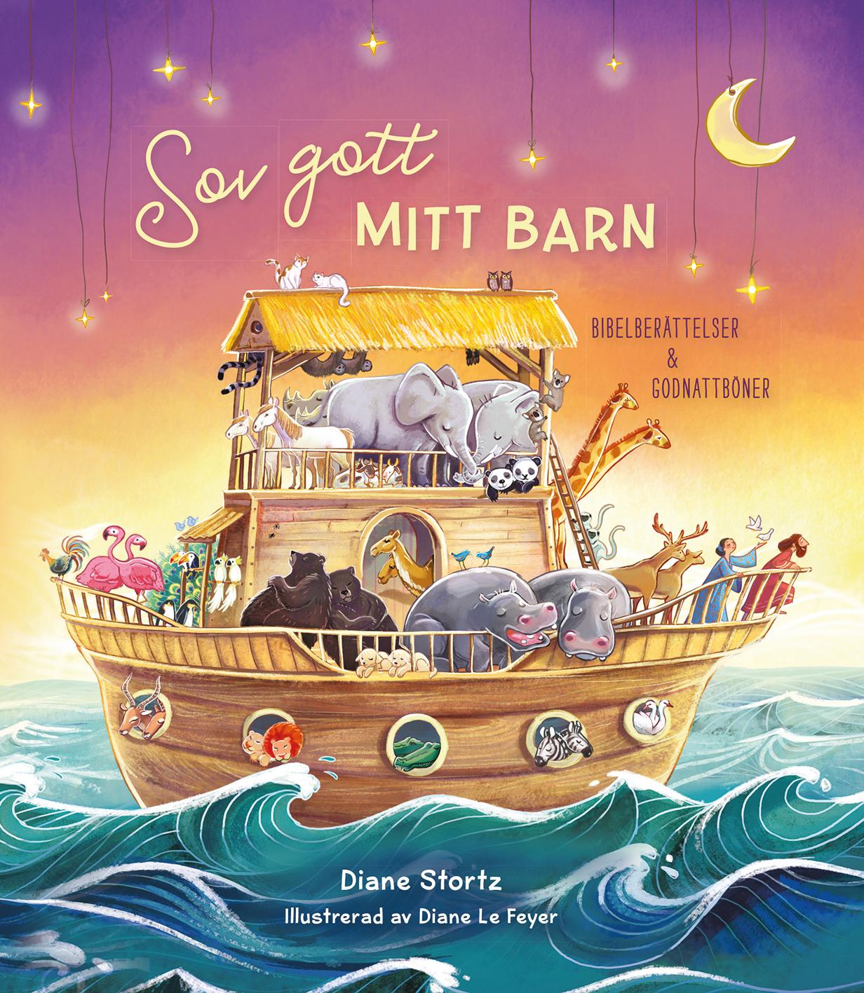 Image for Sov gott mitt barn : bibelberättelser & godnattböner from Suomalainen.com